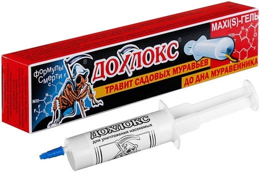 Дохлокс Maxi(S)Гель гель от садовых муравьев (20 мл)