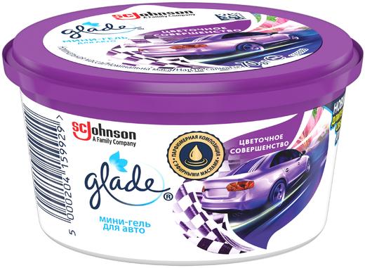Glade Цветочное Совершенство освежитель воздуха мини-гель для автомобиля (70 г)