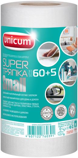 Супер тряпка многократного применения Unicum Small (230 мм*210 мм) вискоза с хлопком