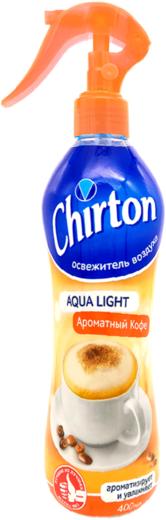 Чиртон Aqua Light Ароматный Кофе освежитель воздуха спрей (400 мл)