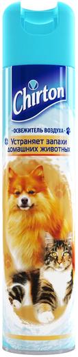 Чиртон освежитель воздуха от запаха домашних животных аэрозоль (300 мл)