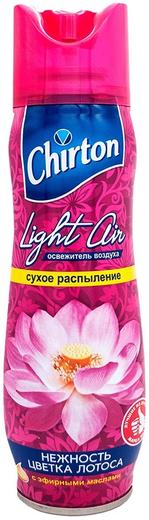 Чиртон Light Air Нежность Цветка Лотоса освежитель воздуха с эфирными маслами аэрозоль (300 мл)