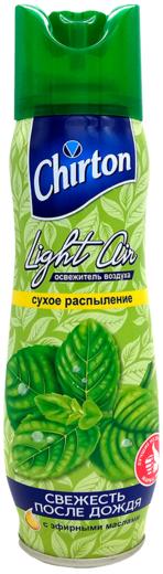 Чиртон Light Air Свежесть После Дождя освежитель воздуха с эфирными маслами аэрозоль (300 мл)