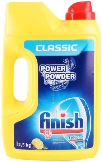 Finish Classic Power Powder Лимон порошок для посудомоечных машин (1 кг)