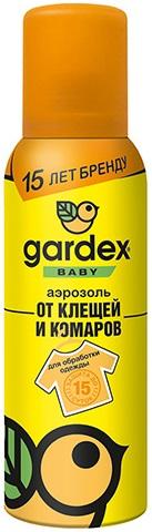 Gardex Baby защита от клещей и комаров для обработки одежды аэрозоль (100 мл)