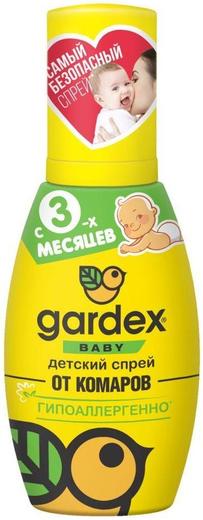 Gardex Baby детский спрей от комаров гипоаллергенный (75 мл)