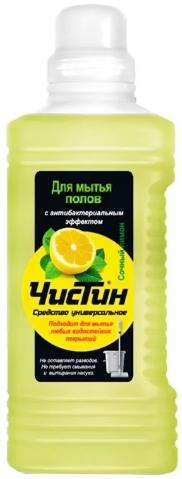 Чистин Сочный Лимон универсальное средство для мытья полов (1 л)