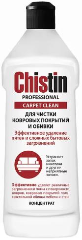 Чистин Professional Carpet Clean средство для чистки ковровых покрытий и обивки концентрат (500 мл)