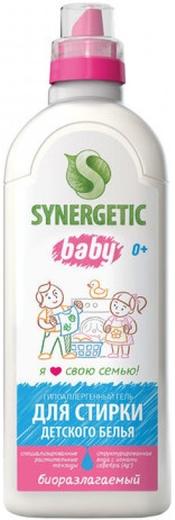 Синергетик Baby гипоаллергенный гель для стирки детского белья (1 л)