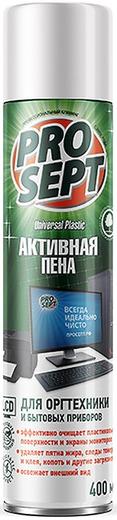 Просепт Universal Plastic Активная Пена чистящее средство для оргтехники и бытовых приборов (400 мл)