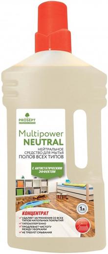 Просепт Multipower Neutral концентрат для мытья полов с антистатическим эффектом (5 л)