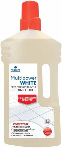 Просепт Multipower White концентрат для мытья светлых полов (1 л)