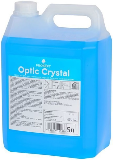Просепт Optic Crystal средство для мытья стекол, зеркал и пластика (500 мл)