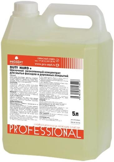 Просепт Duty Hard+ концентрат для мытья фасадов и дорожных покрытий (1 л)