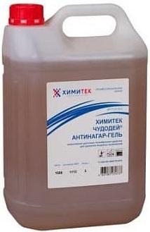 Химитек Чудодей-Антинагар-Гель гелеобразное средство для удаления пищевых загрязнений (5 л)