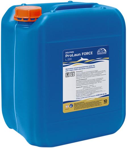 Dolphin Prolaun Force L 220 средство для стирки жиро-масляных загрязнений (10 л)