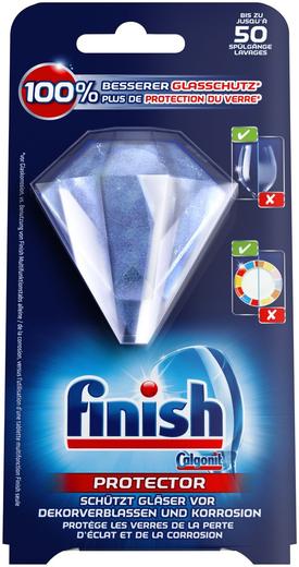 Finish Protector средство для защиты стекла и узоров в посудомоечных машинах (30 г)