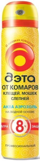 Дэта Extrime Aqua аэрозоль от комаров, клещей, мошек и слепней (75 мл)