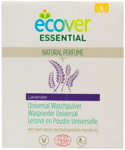 Ecover Essential Лаванда стиральный порошок универсальный (1.2 кг)