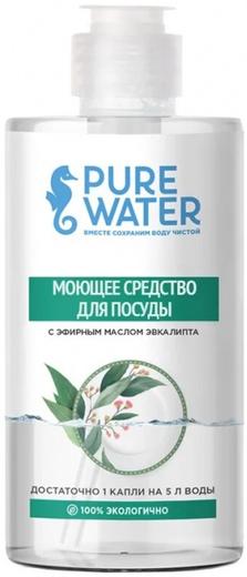 Pure Water с Эфирным Маслом Эвкалипта моющее средство для посуды (450 мл)