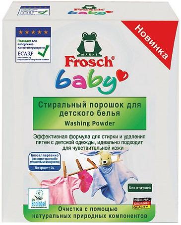 Frosch Baby стиральный порошок для детского белья (1.08 кг)
