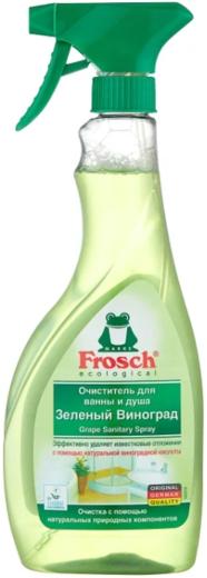 Frosch Зеленый Виноград очиститель для ванны и душа (500 мл)