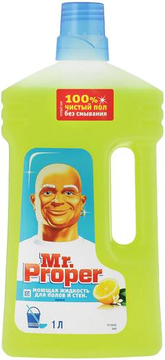 Мистер Пропер Лимон моющая жидкость для полов и стен (1 л)
