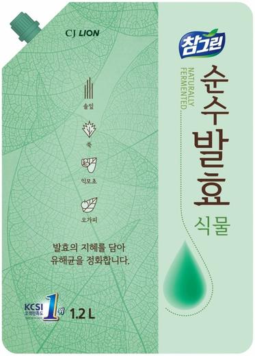 Lion Chamgreen Горные Травы средство для мытья посуды, овощей и фруктов (720 мл)