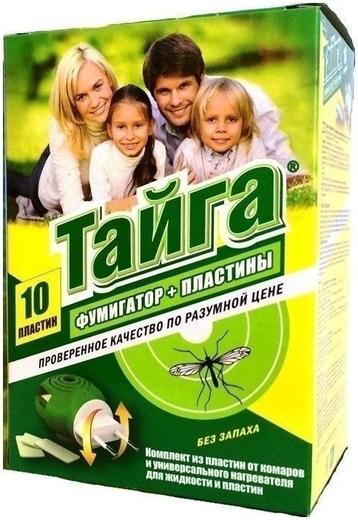 Тайга комплект от комаров с пластинами (1 комплект)