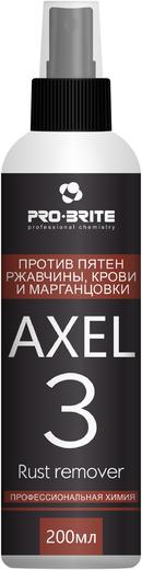 Pro-Brite Axel-3 Rust Remover средство против пятен ржавчины, марганцовки и крови (1 л)