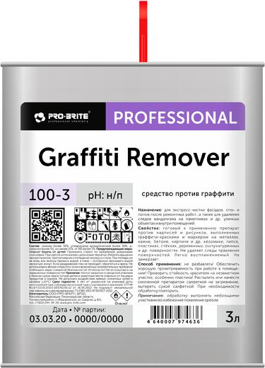 Pro-Brite Graffiti Remover средство против граффити (300 мл)