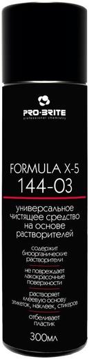 Pro-Brite Formula X-5 yниверсальное чистящее средство на основе растворителей (300 мл)