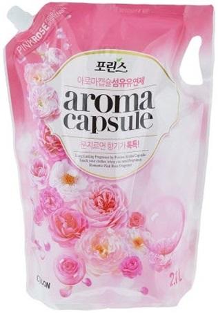 CJ Lion Aroma Capsule Pink Rose кондиционер для белья (2.1 л)