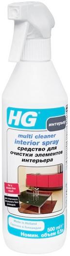 HG средство для очистки элементов интерьера (500 мл)