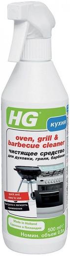 HG чистящее средство для очистки духовок, гриля, барбекю (500 мл)