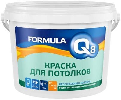 Formula Q8 краска для потолков (25 кг) белая