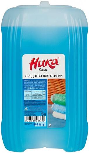 Ника Люкс синтетическое жидкое средство для стирки (1 л)