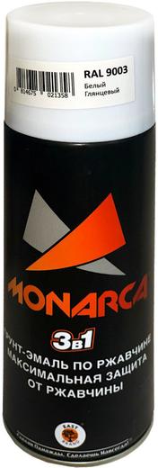 East Brand Monarca 3 в 1 грунт-эмаль по ржавчине (520 мл) белая