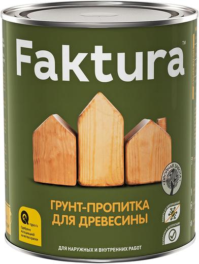 Faktura грунт-пропитка для древесины (9 л)