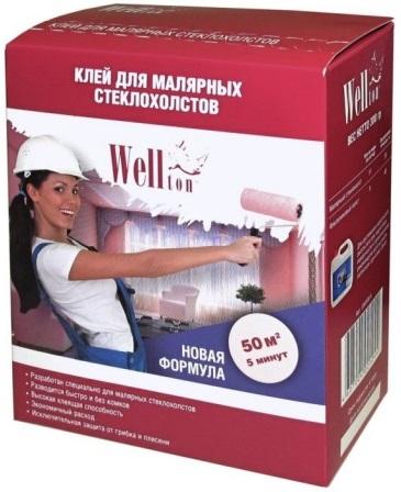 Wellton клей для малярных стеклохолстов (300 г)