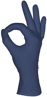 Перчатки нитриловые неопудренные Mediok нитриловые