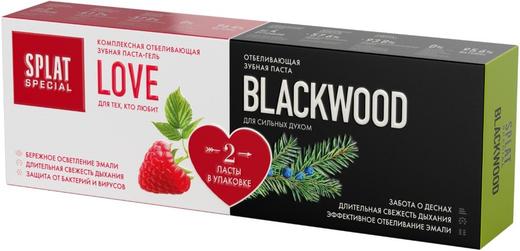 Сплат Special Love/Blackwood зубная паста (набор 1 набор)