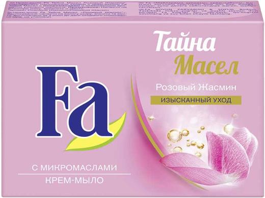 Fa Тайна Масел Розовый Жасмин крем-мыло туалетное (90 г)