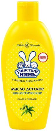 Ушастый Нянь с Алоэ и Чередой масло косметическое детское (200 мл)