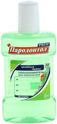 Пародонтол Пародонтол Prof Целебные Травы ополаскиватель для полости рта (300 мл)