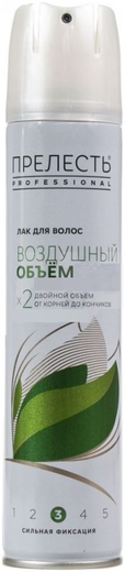 Прелесть Professional Воздушный Объем лак для волос (225 мл)