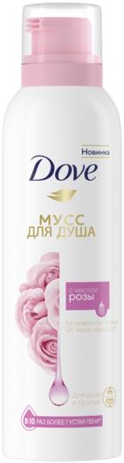 Dove Масло Розы мусс для душа и бритья (200 мл)