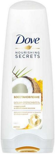 Dove Nourishing Secrets Восстановление с Куркумой и Кокосовым Маслом бальзам-ополаскиватель для волос (200 мл)
