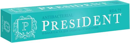 Президент Antibacterial зубная паста для защиты от бактерий (75 мл)