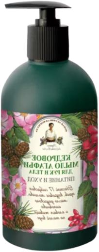 Рецепты Бабушки Агафьи Кедровое Питание и Уход мыло для рук и тела жидкое (500 мл)